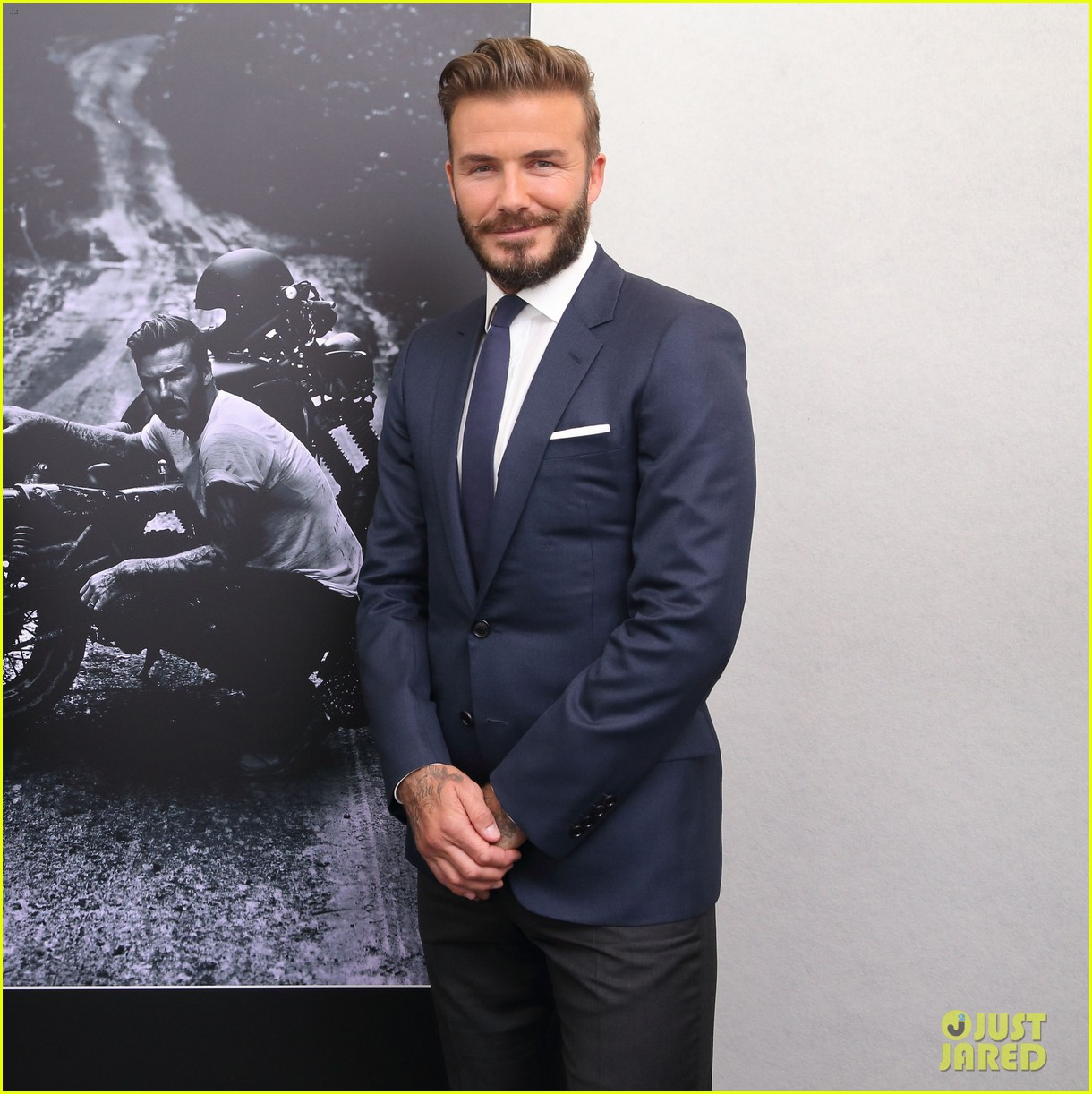 david beckham attends photo call for his documentary into the unknown 033126347