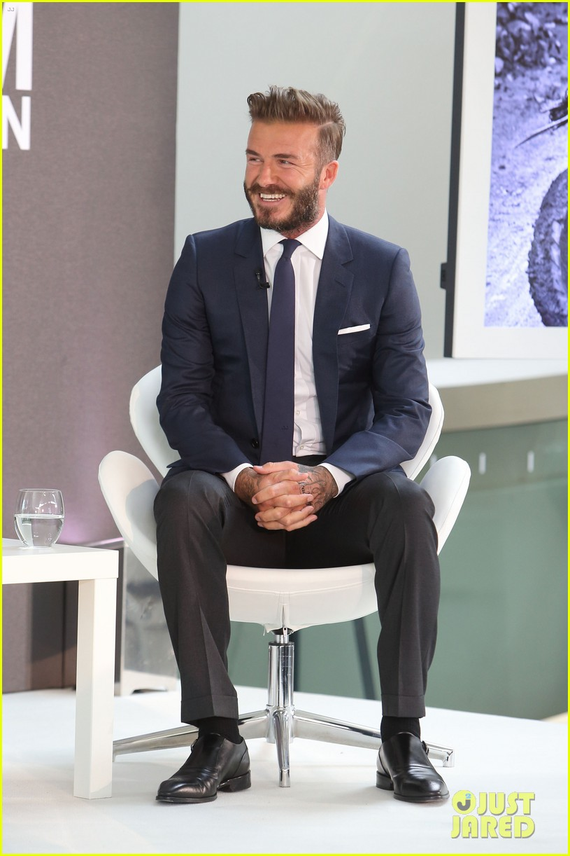david beckham attends photo call for his documentary into the unknown 053126349