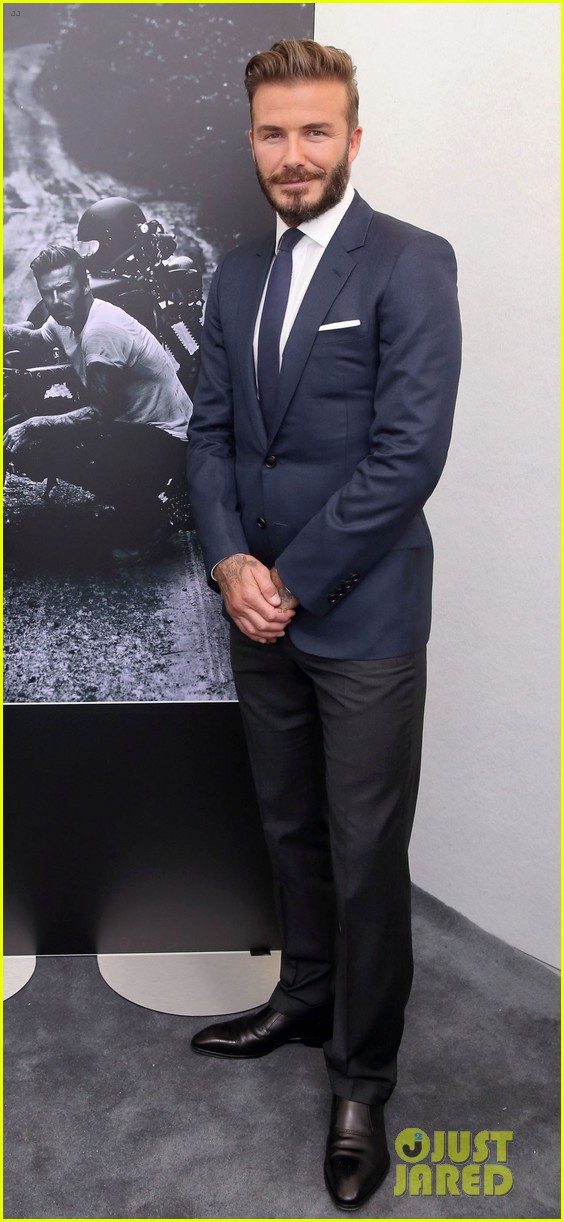 david beckham attends photo call for his documentary into the unknown 063126350