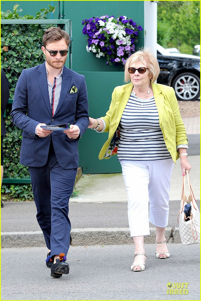 david beckham ed westwick dapper at wimbledon 013145526