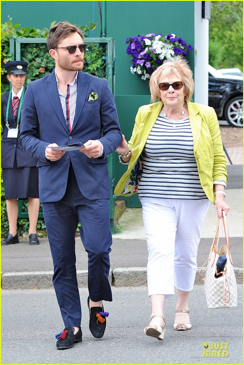 david beckham ed westwick dapper at wimbledon 03