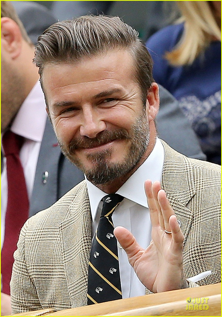 david beckham ed westwick dapper at wimbledon 123145537