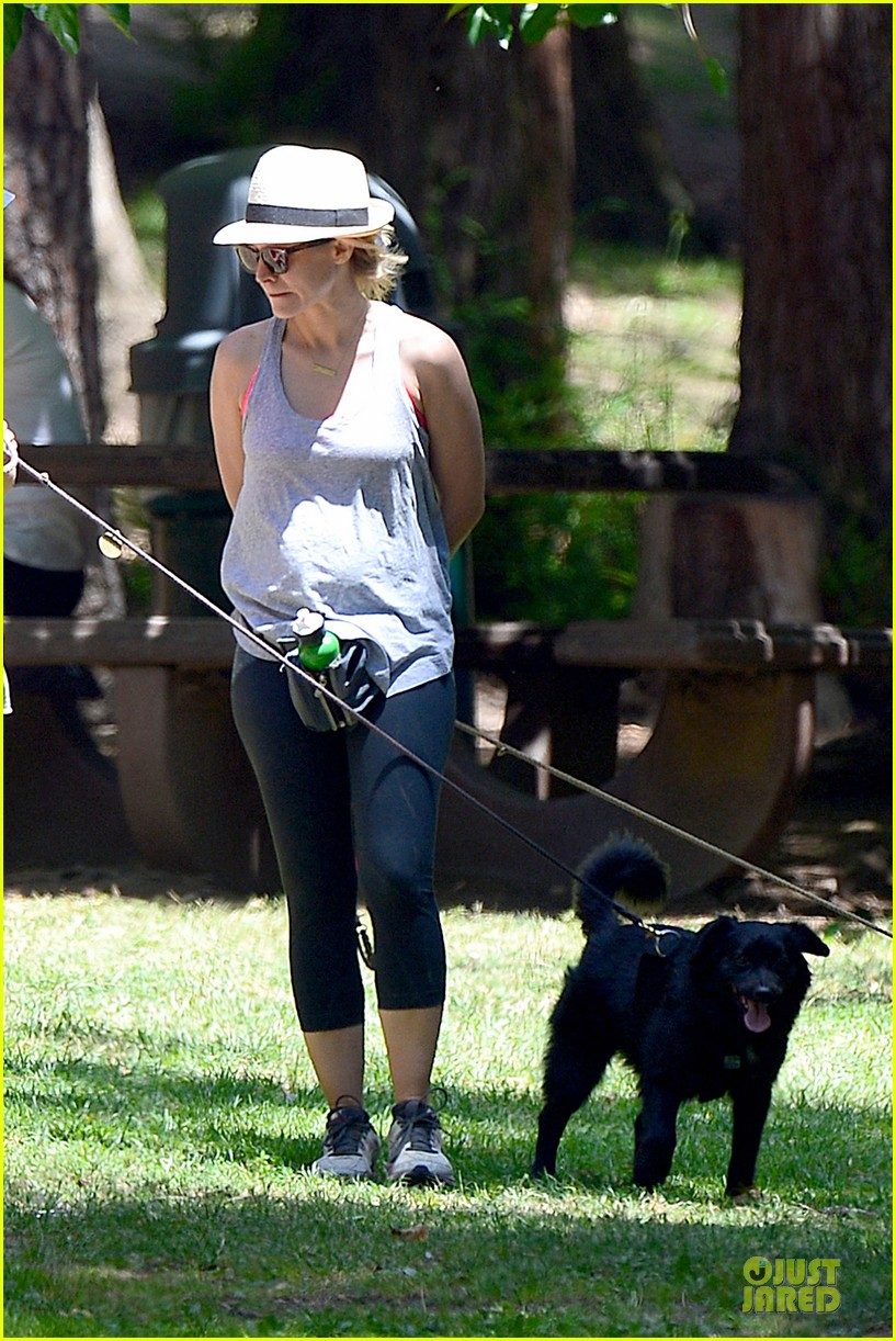 kristen bell gets new black dog 14