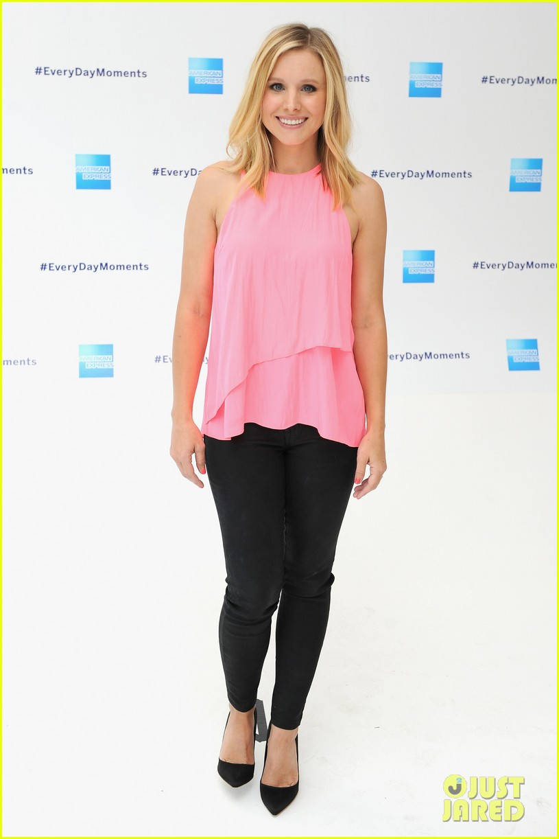 kristen bell soulcycle american express events 093140168