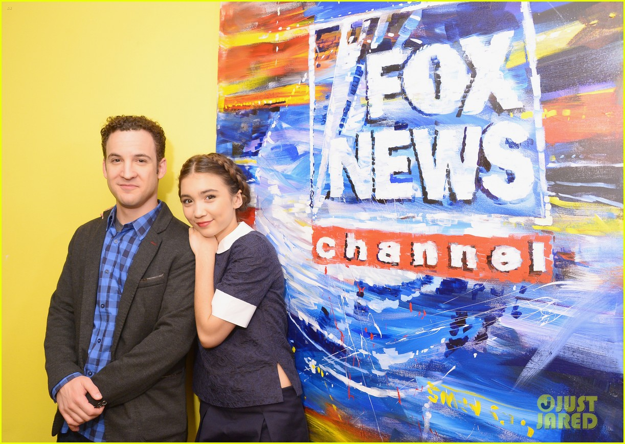 rowan blanchard ben savage gmw ny press 01