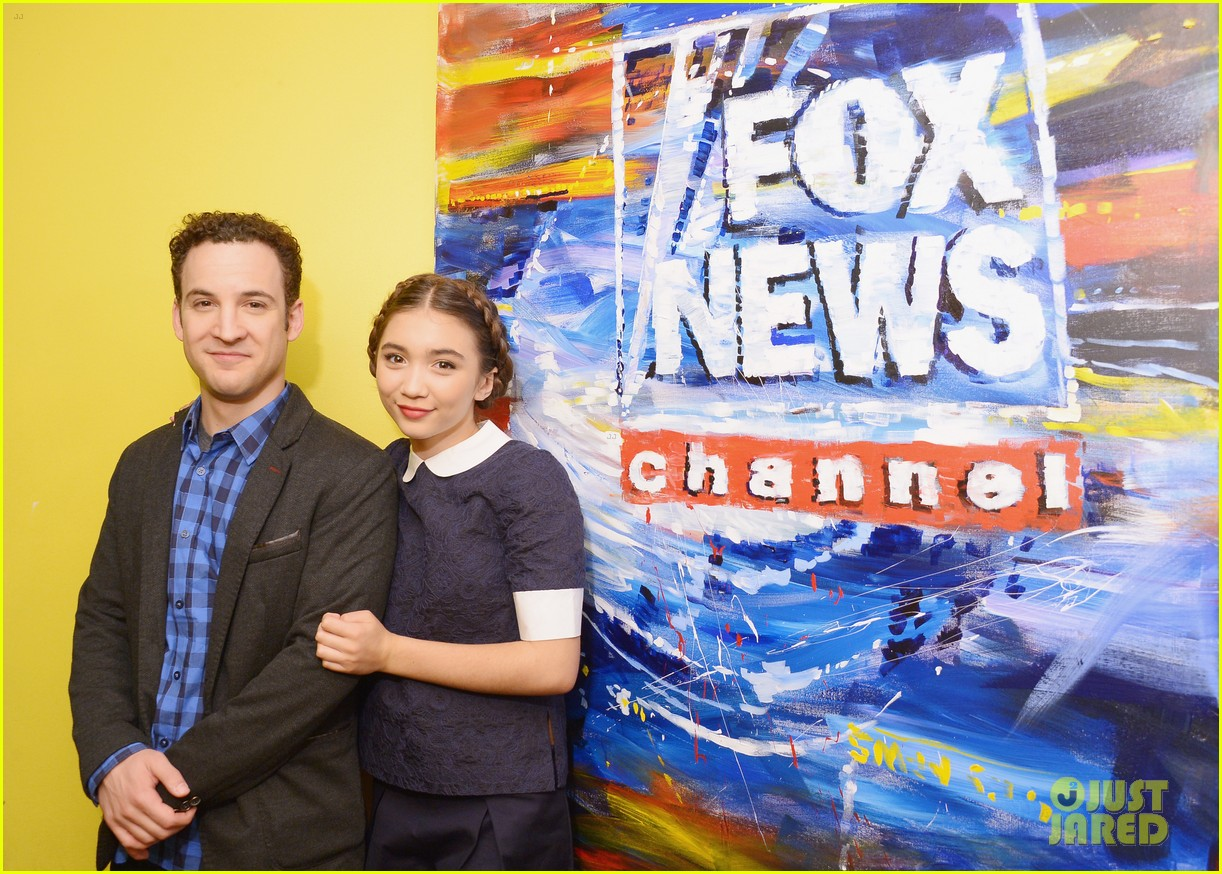 rowan blanchard ben savage gmw ny press 053143152
