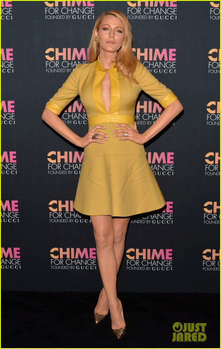 blake lively parties beyonce gucci chime for change 073127779