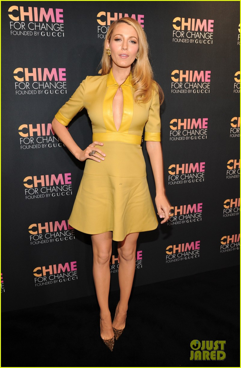 blake lively parties beyonce gucci chime for change 153127787
