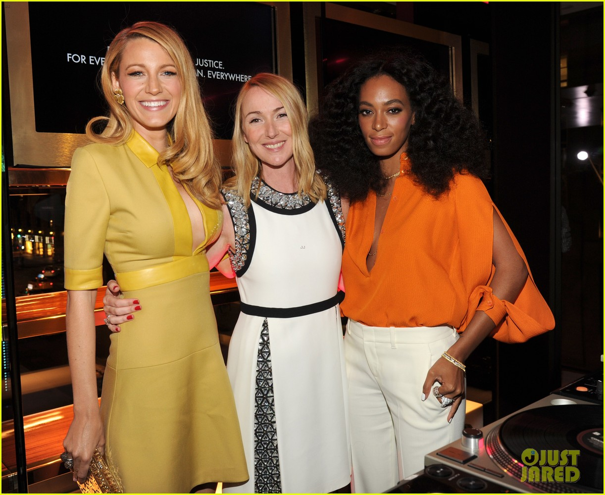 blake lively parties beyonce gucci chime for change 263127798