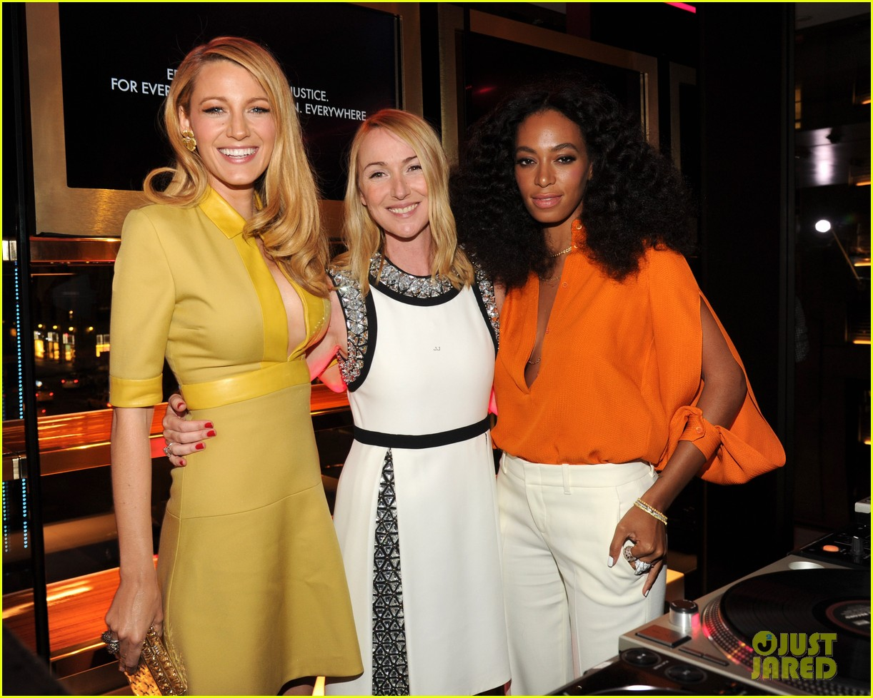 blake lively parties beyonce gucci chime for change 273127799