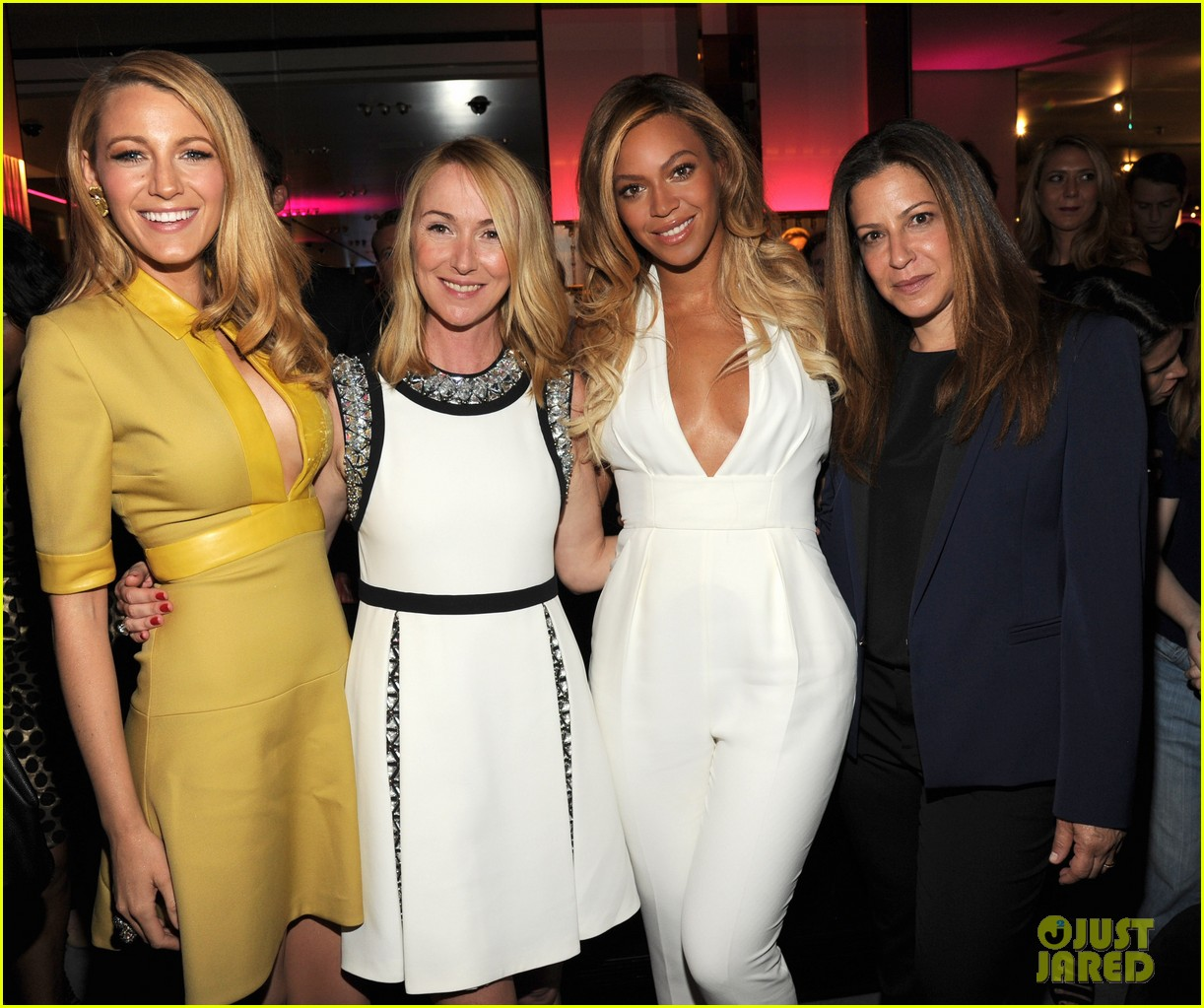 blake lively parties beyonce gucci chime for change 283127800