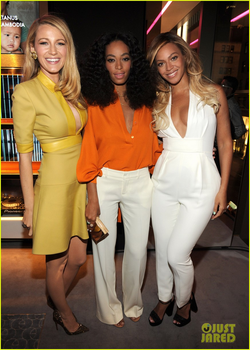 blake lively parties beyonce gucci chime for change 293127801