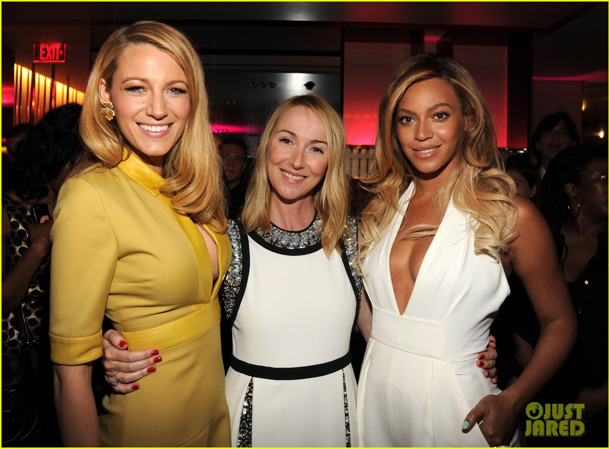 blake lively parties beyonce gucci chime for change 303127802
