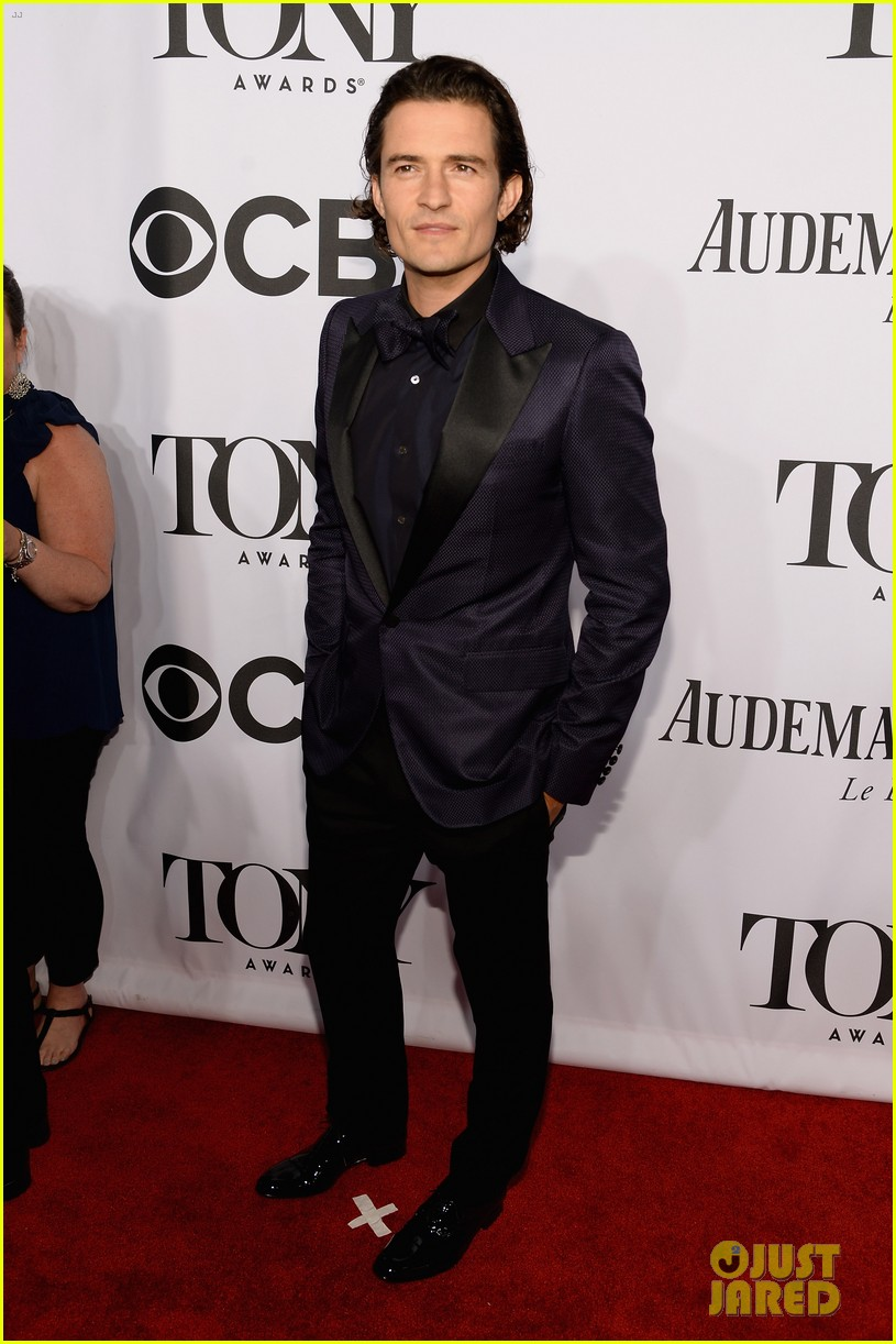 orlando bloom lucy liu tony awards 2014 103131265