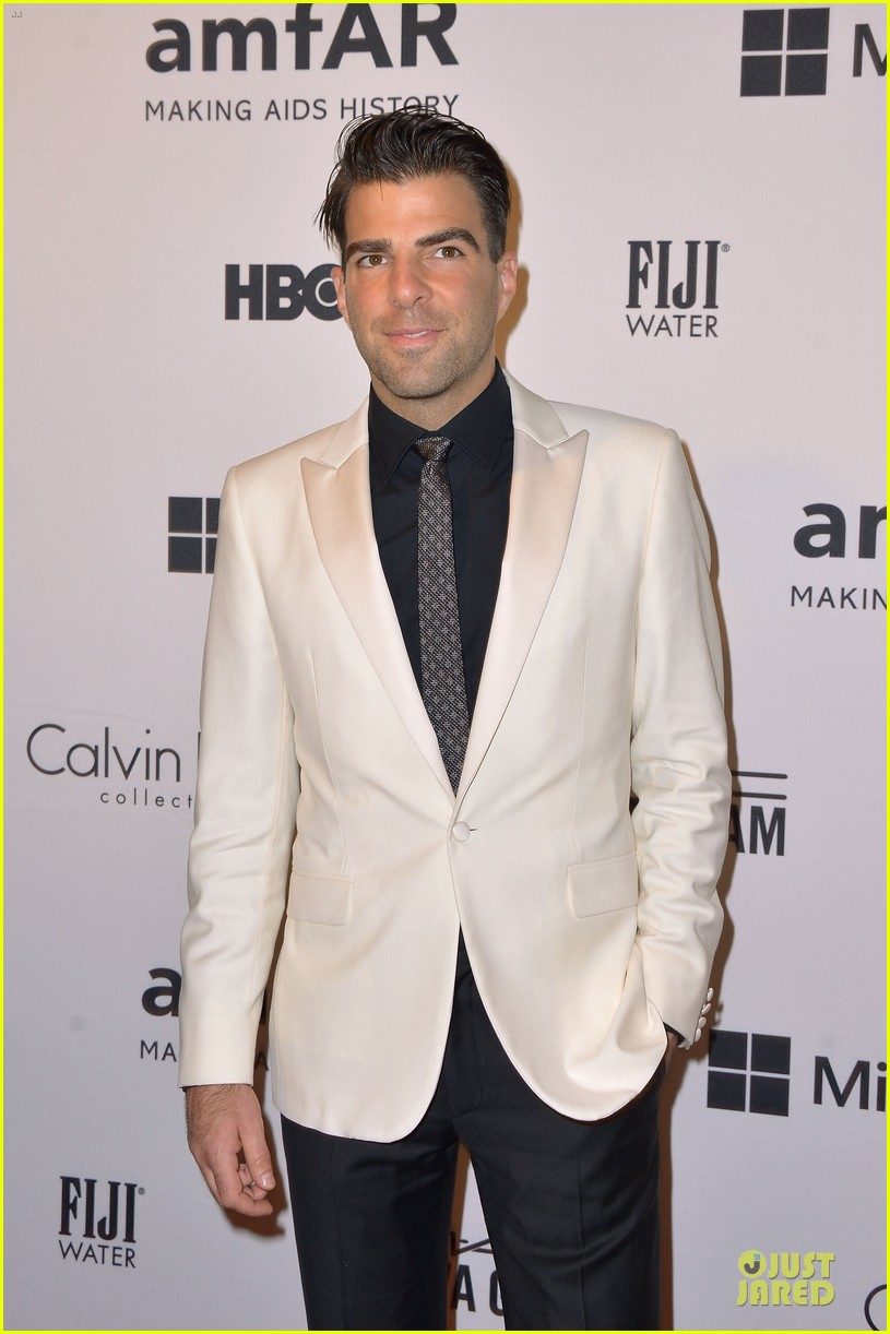 matt bomer zachary quinto meet at amfar inspiration gala 09