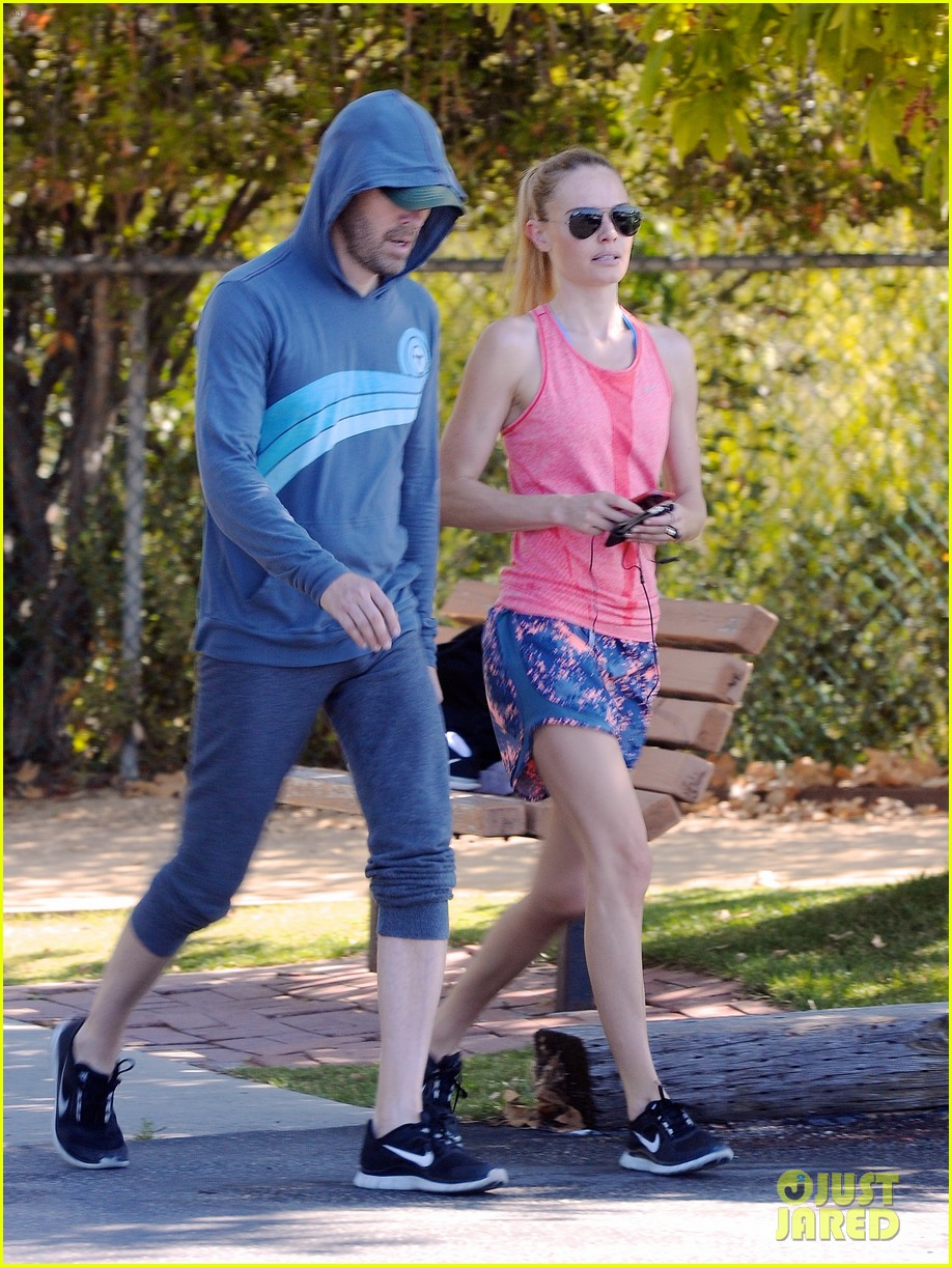 kate bosworth michael polish go hiking after dallas trip 013134900