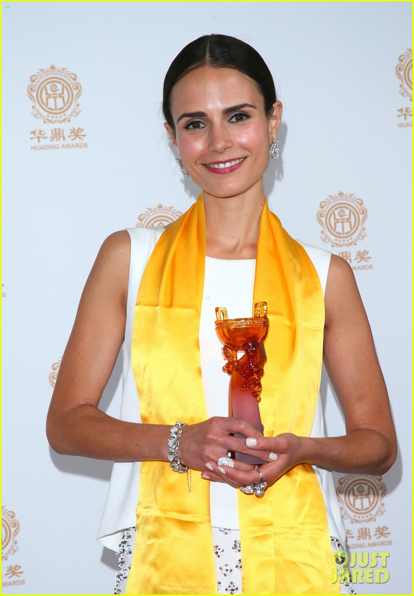 jordana brewster tyrese accept award at huading film awards 2014 123126223