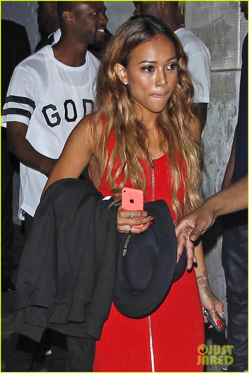 chris brown karrueche tran bet awards after party 02