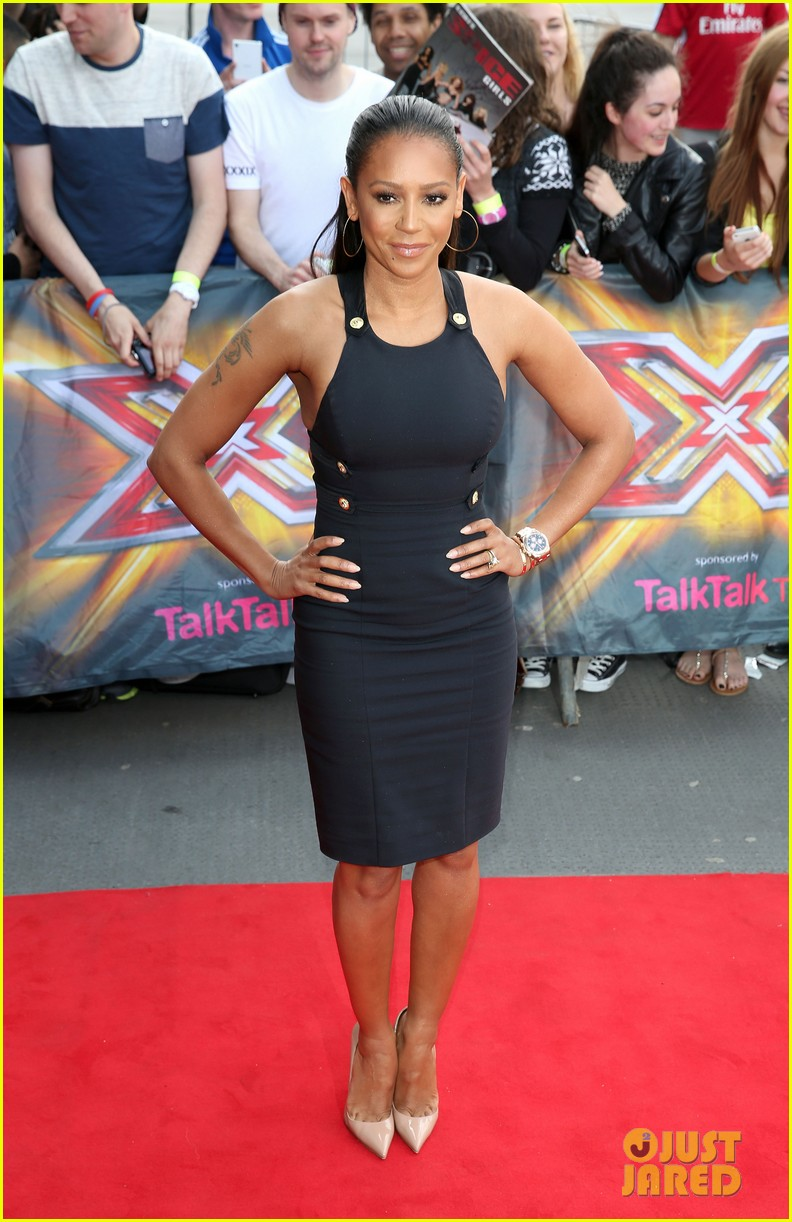 mel b cheryl cole x factor london auditions 083140340