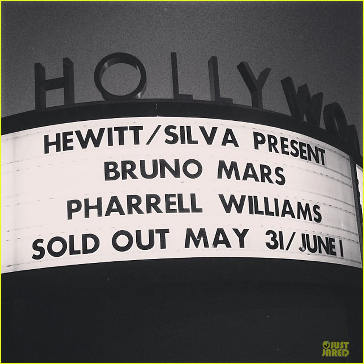 bruno mars knows how to wow hollywood celebrities 023126743