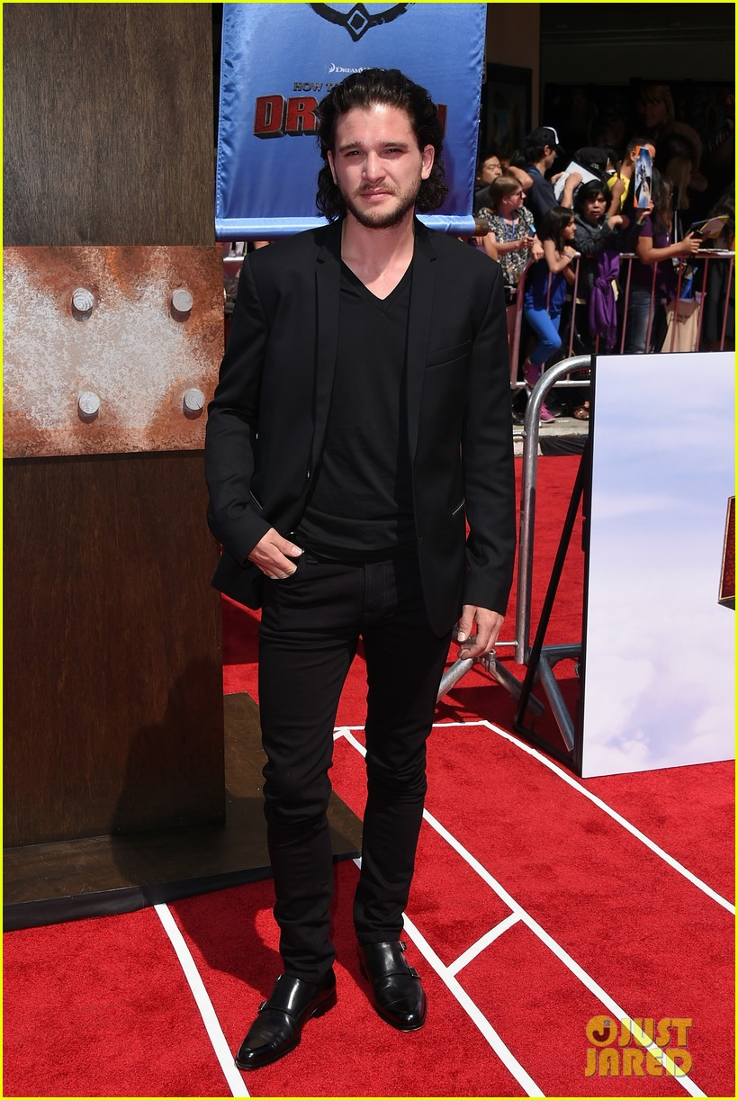 gerard butler kit harington how to train your dragon 2 premiere 033131507