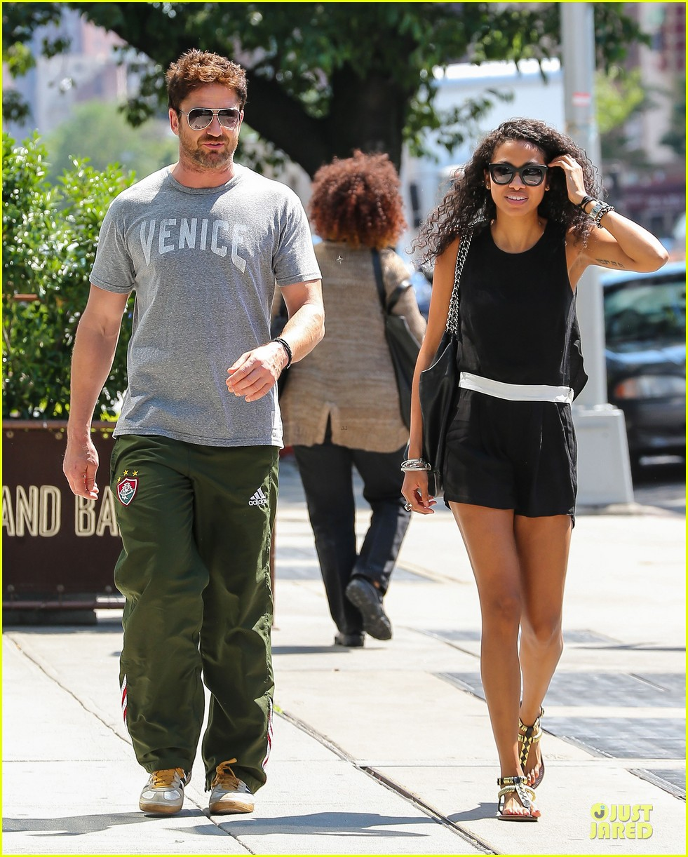 gerard butler venice on stroll with mystery woman 063136750