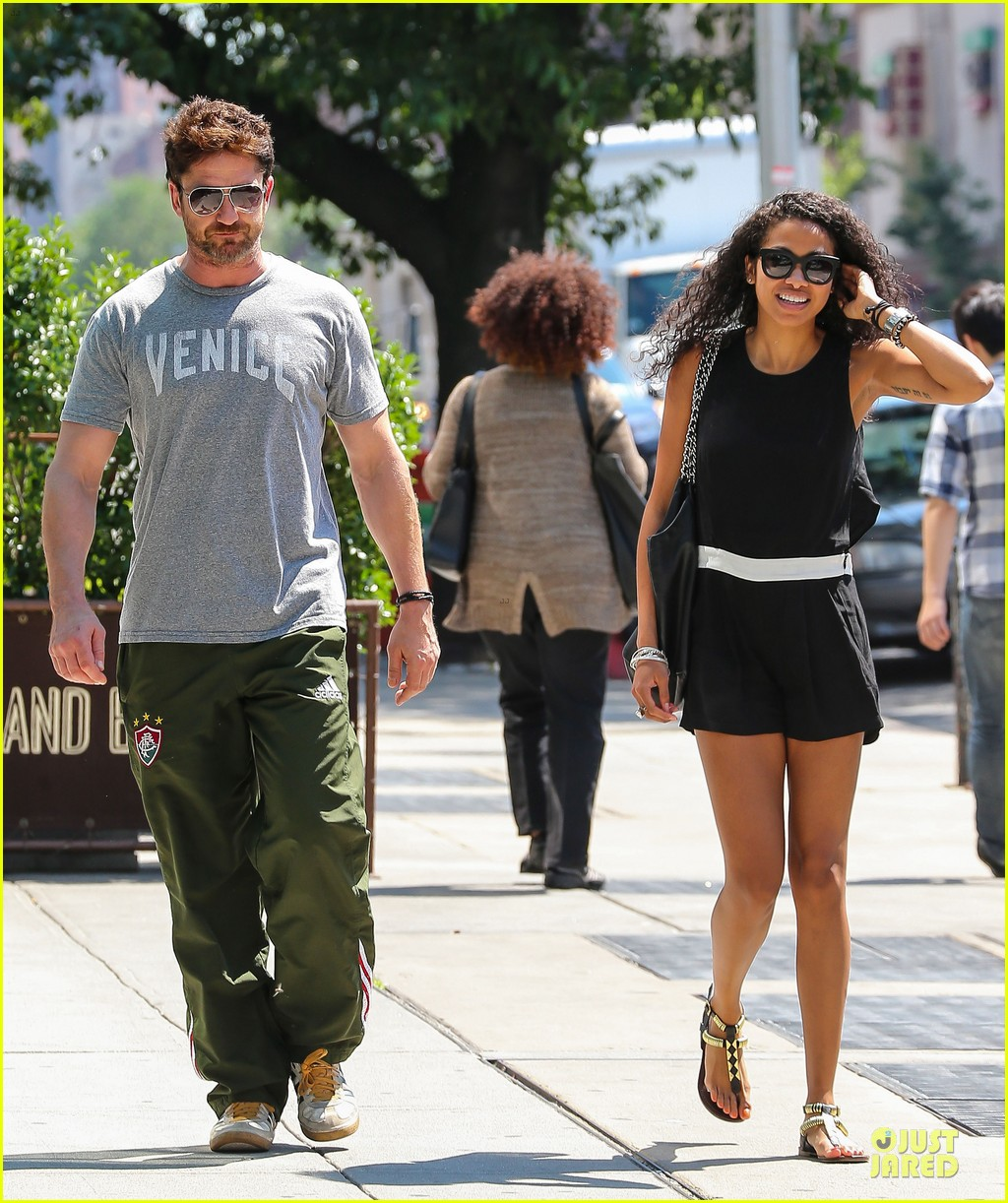 gerard butler venice on stroll with mystery woman 073136751