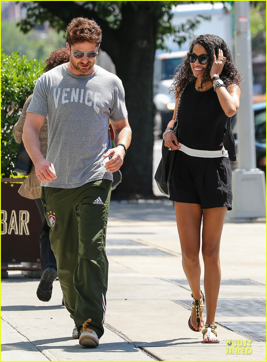 gerard butler venice on stroll with mystery woman 093136753