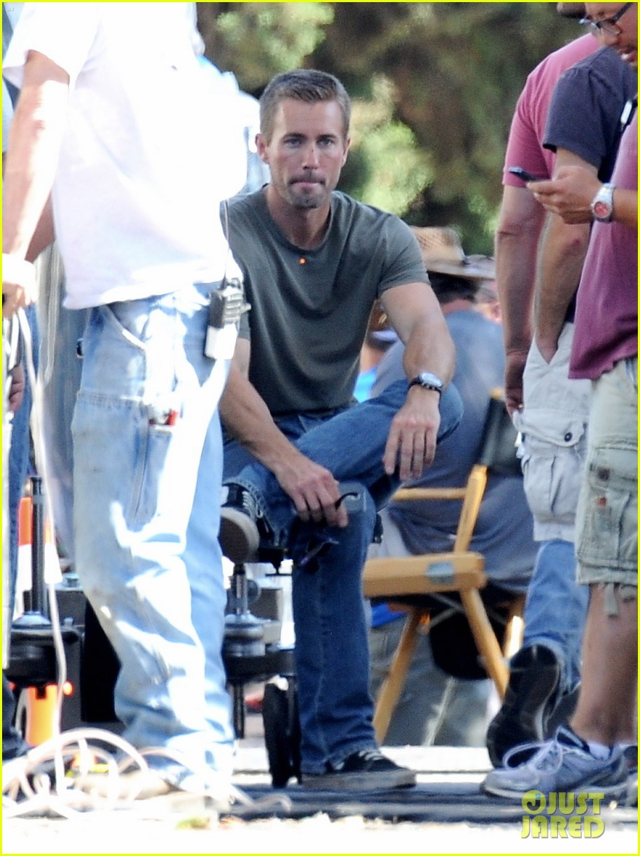 paul walkers lookalike brother caleb walker continues work on fast furious 7 103127997