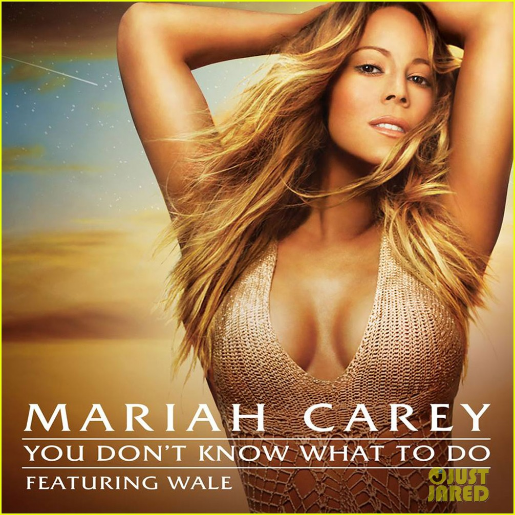 mariah carey you dont know what to do cover 01