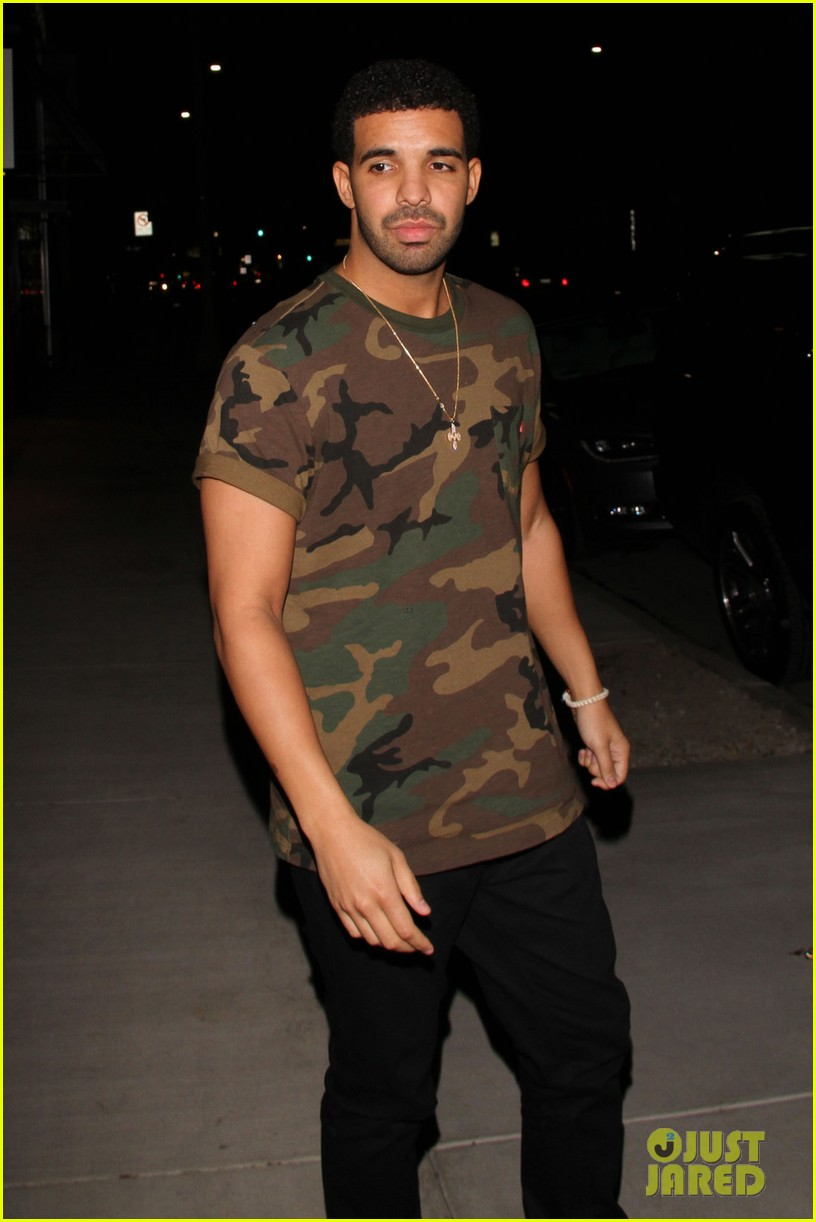 chris brown drake step out before bet awards 2014 023145934