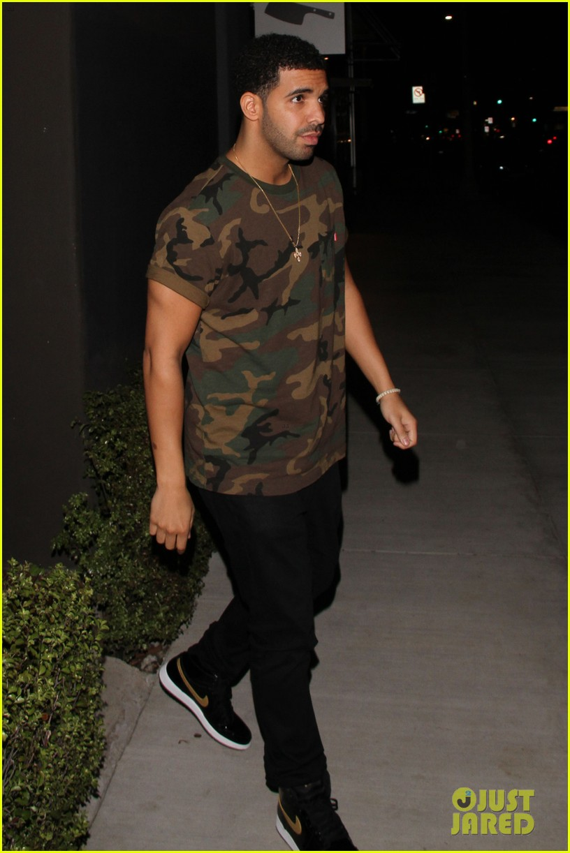 chris brown drake step out before bet awards 2014 043145936