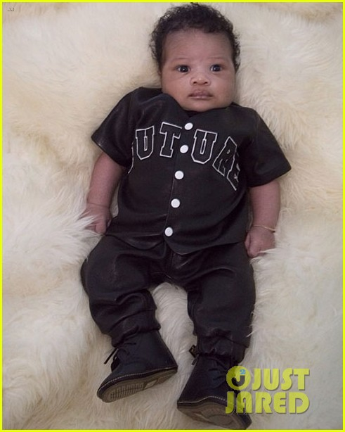 ciara shares first photo of son future zahir 02