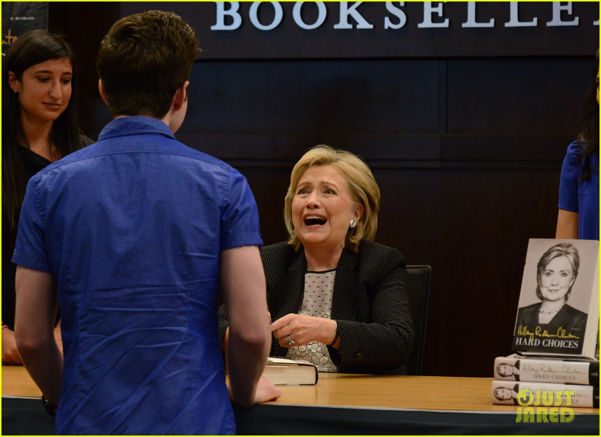 chris colfer hilary clinton book signing 073139263