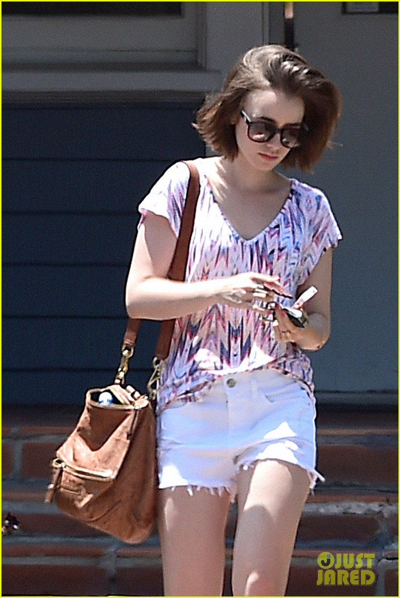 lily collins wellness day la 113145590