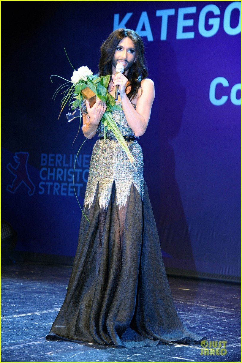 conchita wurst christopher street day gala 033140445