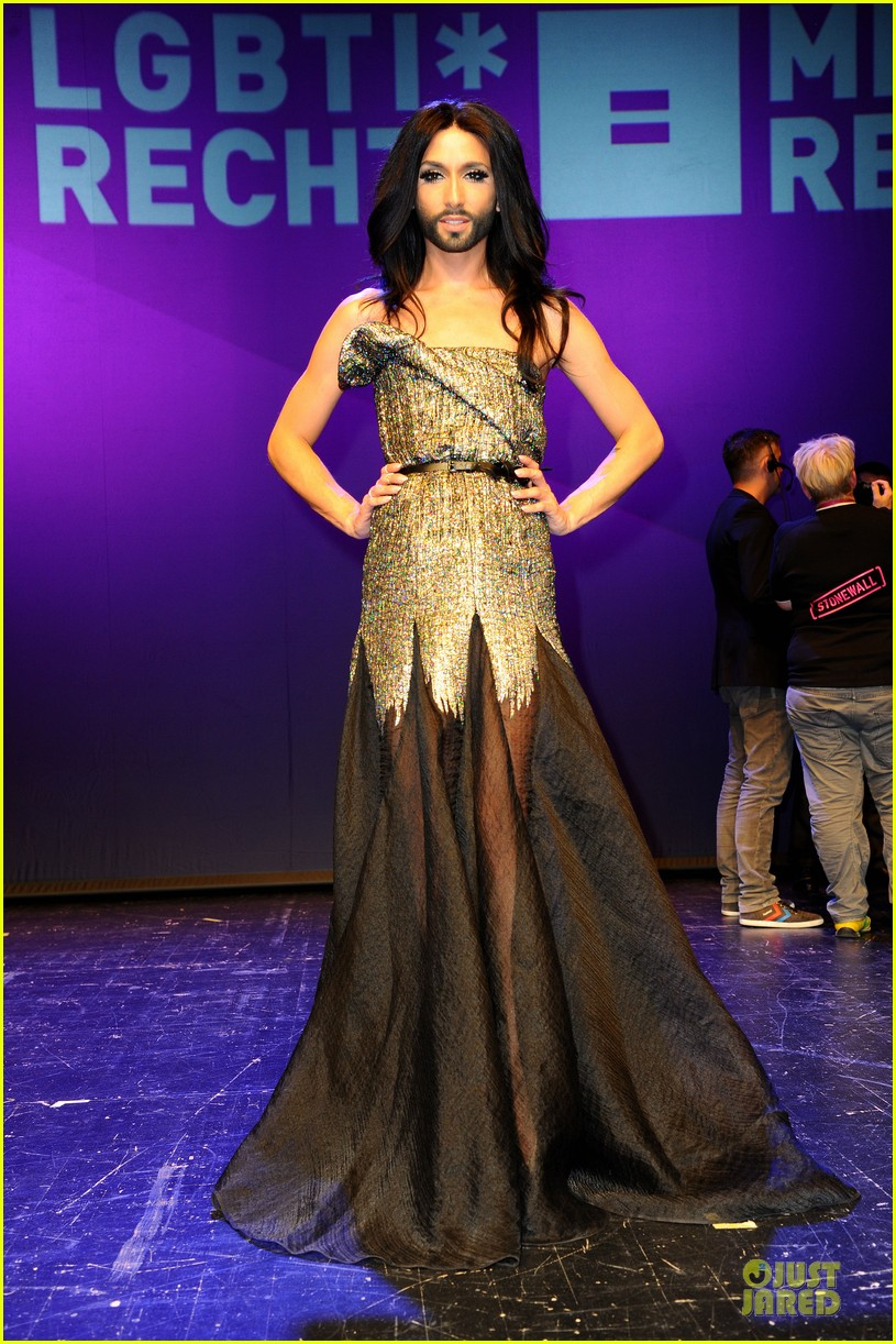 conchita wurst christopher street day gala 083140450