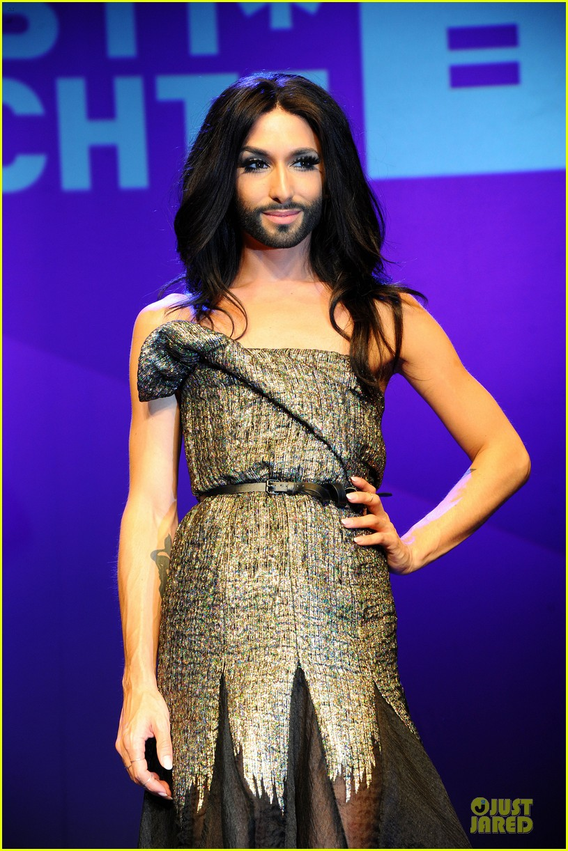 conchita wurst christopher street day gala 093140451