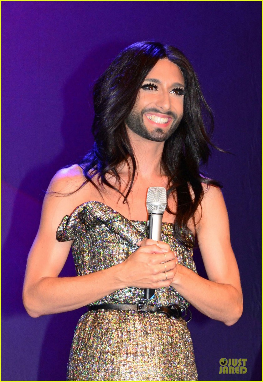 conchita wurst christopher street day gala 143140456