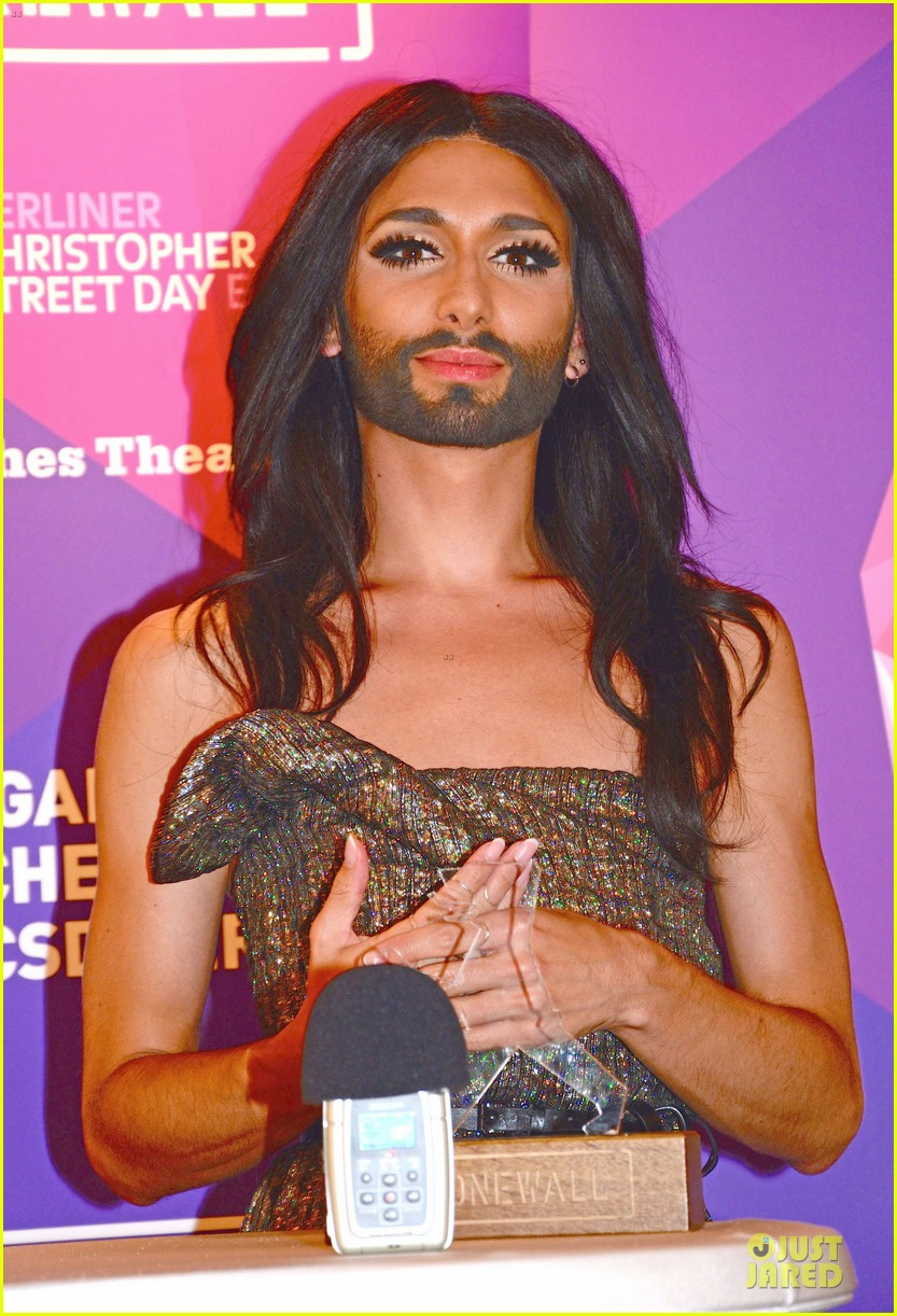 conchita wurst christopher street day gala 223140464