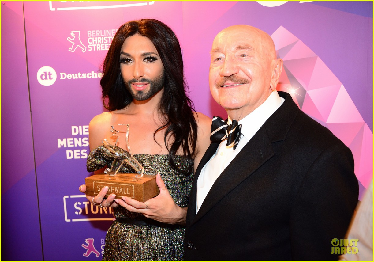 conchita wurst christopher street day gala 253140467