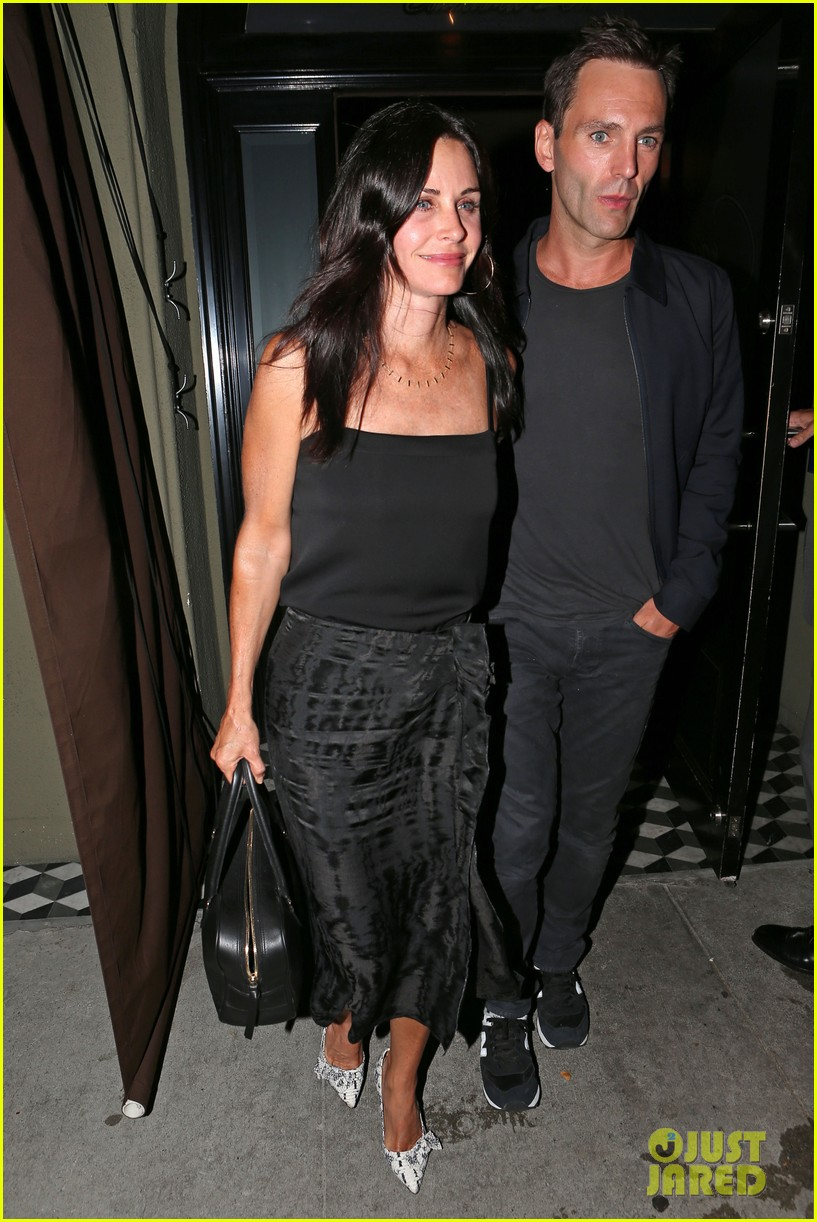 courteney cox johnny mcdaid go on lunch date dinner date 093144112