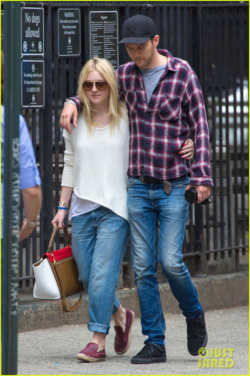 dakota fanning jamie strachan inseparable nyc 08