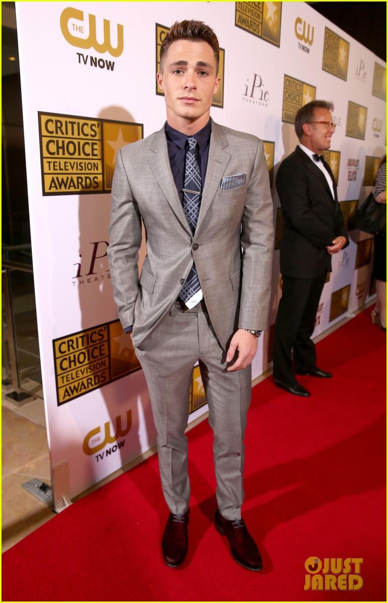 josh dallas colton haynes critics choice tv awards 2014 213139320
