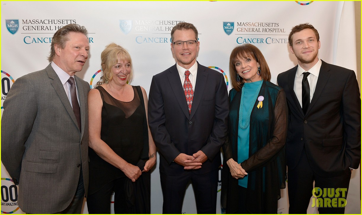 matt damon valerie harper celebrate massachusetts general hospital cancer center 023133164