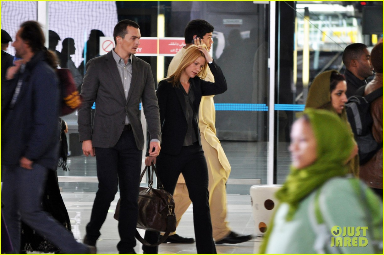 claire danes rupert friend film homeland season 4 in cape town 013138949