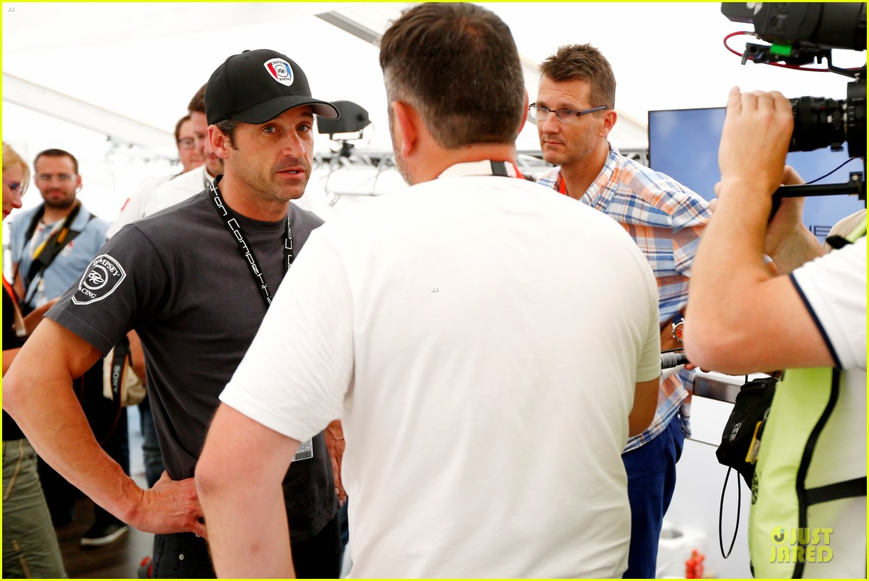patrick dempsey takes fifth place at 24 hours of le mans 063136820