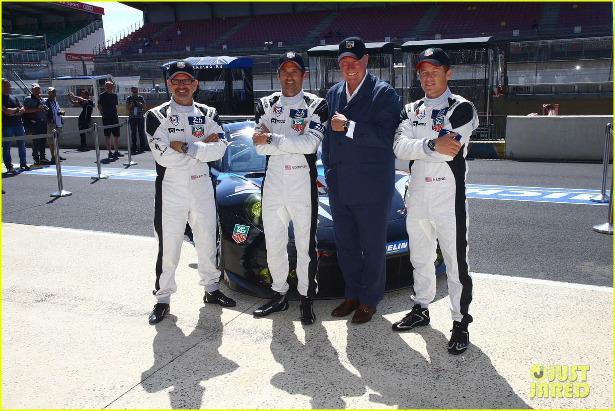 patrick dempsey is back in his racing gear for le mans 013133150