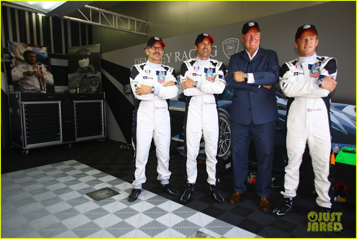 patrick dempsey is back in his racing gear for le mans 033133152