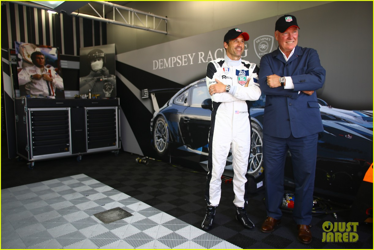 patrick dempsey is back in his racing gear for le mans 113133160